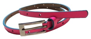 Another line Pink Skinny Belt