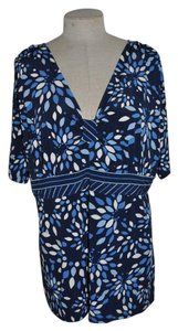 Venezia by Lane Bryant Top Blue