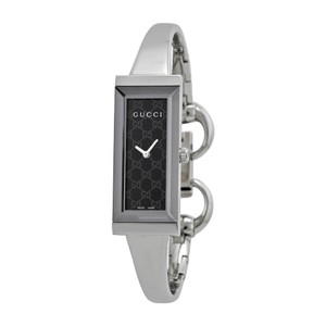 Gucci Gucci G-Frame GG Black Dial Womens Bangle Watch YA127512