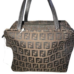 Fendi Tote in Brown / Black
