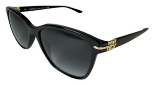 Versace Black & Swarovski Crystals Logo Medallion, Sunglasses