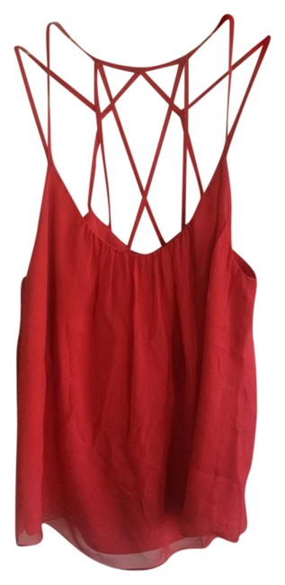 eb4c32bd720 durable modeling Rebecca Taylor Love Story Cami Top Red - 70% Off Retail