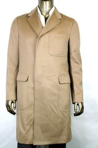 Gucci Light Brown New Men's Wool Overcoat It 54 / Us 44 333512 2602 Groomsman Gift