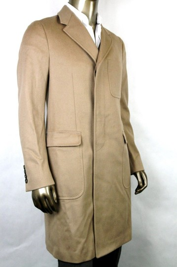 Gucci Light Brown New Men's Wool Overcoat It 50 / Us 40 333512 2602 Groomsman Gift Image 1