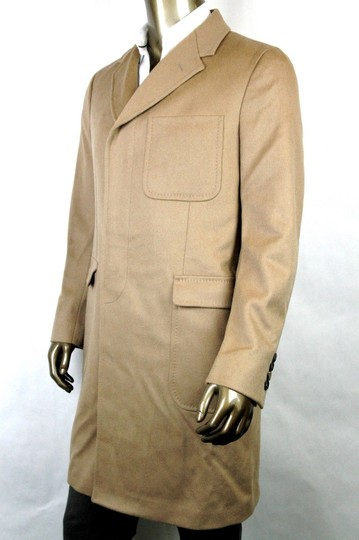 Gucci Light Brown New Men's Wool Overcoat It 50 / Us 40 333512 2602 Groomsman Gift Image 2
