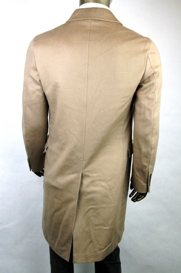 Gucci Light Brown New Men's Wool Overcoat It 50 / Us 40 333512 2602 Groomsman Gift Image 3