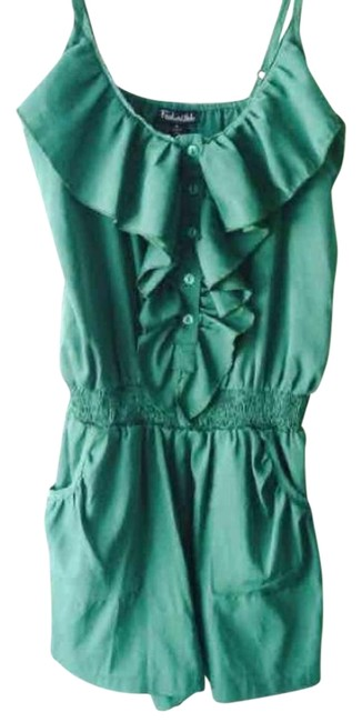 Preload https://img-static.tradesy.com/item/20096897/green-above-knee-romperjumpsuit-size-8-m-0-1-650-650.jpg