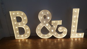 B & L Marquee Lettering