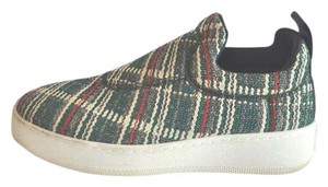 Céline Green Tweed Love Life Sneakers Philo Size 39 Multi-color Athletic
