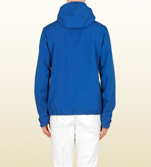 Gucci Blue Men's Electric Heat Sealed Windbreaker It 56 / Us 46 347511 4372 Groomsman Gift Image 1
