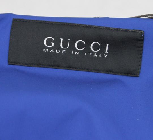 Gucci Blue Men's Electric Heat Sealed Windbreaker It 56 / Us 46 347511 4372 Groomsman Gift Image 7