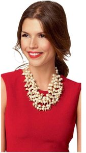Stella & Dot Stella and Dot Sohia Pearl Bib Necklace