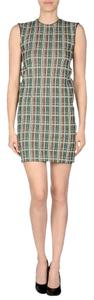 Cline short dress Multi0color Tweed/check Sleeveless on Tradesy