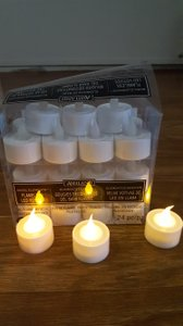 Ashland(r) Basic Elements(tm) Flameless Tea Lights 24 Count