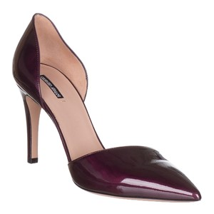 Giorgio Armani Purple Pumps