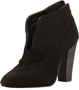 Steven by Steve Madden Bootie Suede Black Boots