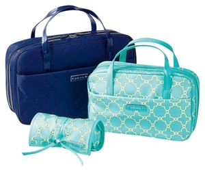 Stella & Dot Travel Jewelry Navy Travel Bag
