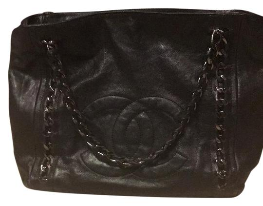 Preload https://img-static.tradesy.com/item/20097143/chanel-classic-logo-purse-leather-tote-0-1-540-540.jpg