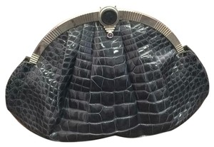 Judith Leiber Gray Clutch