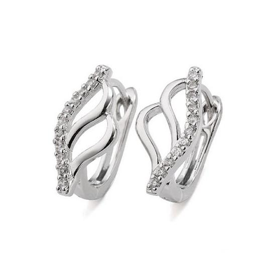 Preload https://img-static.tradesy.com/item/20097375/rhodium-silver-cubic-clear-stones-abstract-openwork-zirconia-stud-elegant-earrings-0-0-540-540.jpg