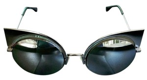 Fendi FENDI EYESHINE Fashion show sunglasses in ruthenium metal