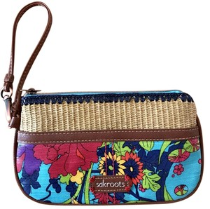 Sakroots Wallet Laminated Phone Wristlet in Multi color print