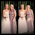 Adrianna Papell Chiffon Mother Of The Bride Mother Of The Groom Gown Illusion Dress Image 1