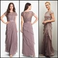 Adrianna Papell Chiffon Mother Of The Bride Mother Of The Groom Gown Illusion Dress Image 4