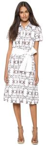 Carolina Herrera short dress White Multi Limited Edition on Tradesy