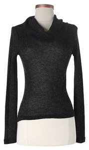 Jean-Paul Gaultier Turtleneck Sheer Longsleeve Sweater