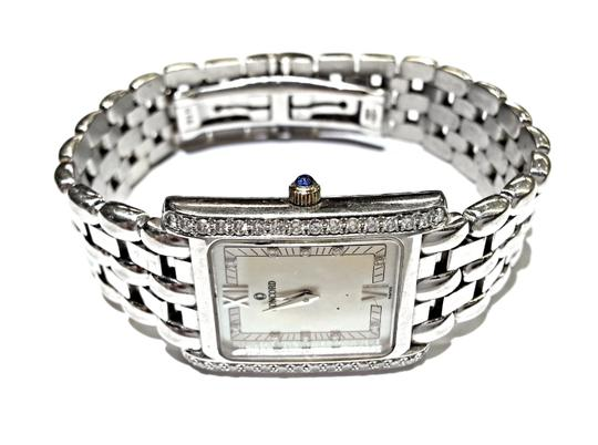 Concord CONCORD Veneto Ladies 18K White Gold Watch With Factory Diamonds And Mother Of Pearl Dial. Weighs 66.1 Grams Including The Movement. Image 1