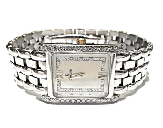 Concord CONCORD Veneto Ladies 18K White Gold Watch With Factory Diamonds And Mother Of Pearl Dial. Weighs 66.1 Grams Including The Movement. Image 4