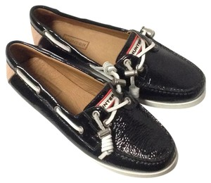 Hunter Black Flats