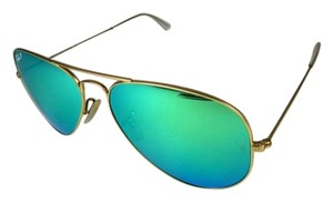 Ray-Ban Aviator - Gold Metal, Mirror & Polarized, Sunglasses Unisex
