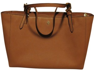 Tory Burch Luggage Tote in Luggage/ Brown