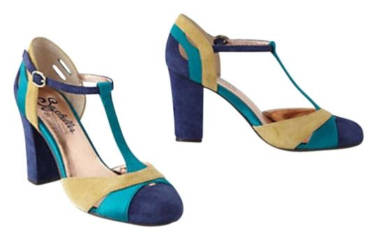 Preload https://item4.tradesy.com/images/seychelles-blue-teal-gold-trichromatic-t-straps-pumps-size-us-65-200978-0-0.jpg?width=440&height=440