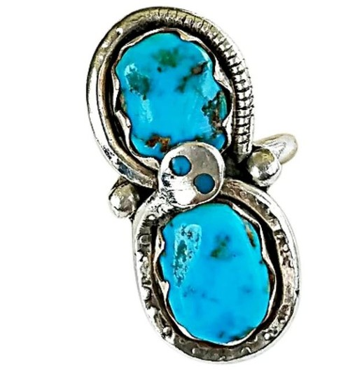 Preload https://img-static.tradesy.com/item/20097818/turquoise-sterling-silver-ring-0-0-540-540.jpg