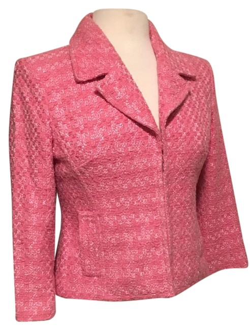 Preload https://img-static.tradesy.com/item/20097839/inc-international-concepts-fuchsia-short-fitted-bodice-34-sleeves-blazer-size-4-s-0-1-650-650.jpg