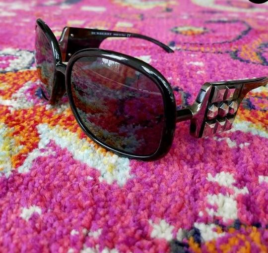 Burberry Burberry Oversized Sunglasses Studded