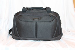 Samsonite Sleek Nylon Gym Classic Black Travel Bag