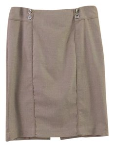 White House | Black Market Skirt Tan