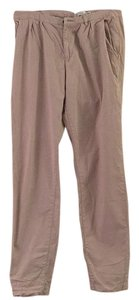 H&M Straight Pants Khaki