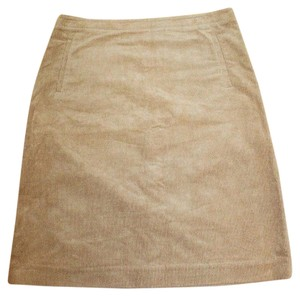 J.Crew Corduroy Winter Skirt BEIGE