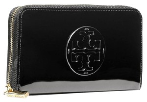 Tory Burch PATENT CONTINENTAL WALLET PATENT LEATHER