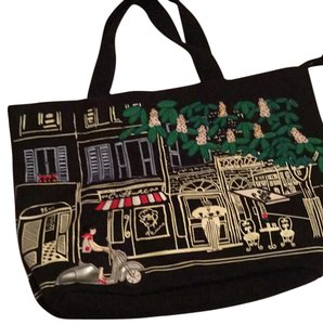 Lulu Guinness Tote in Black