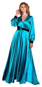 ZEMA Silk Maxi Dress