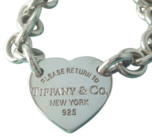 Tiffany & Co. Please Return To Tiffany Heart Tag Bracelet Like New Condition. Gorgeous!!! This Comes With A Complementary Tiffany Blue Color Polishing Cloth!!!