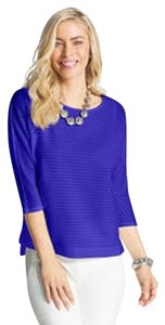 Chico's Dolman Sleeves 3/4 Sleeves Sweater