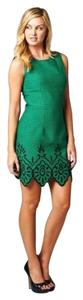 ZEMA short dress Green on Tradesy