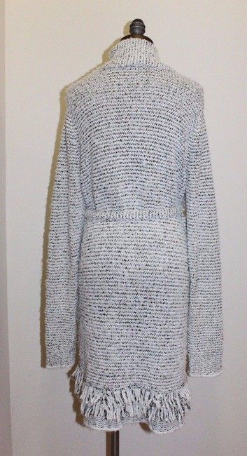 EIGHTEEN68 Marled Shaggy Belted Cardigan Image 3